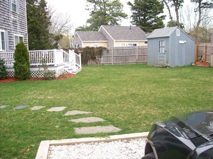 South Yarmouth Cape Cod vacation rental - Back yard