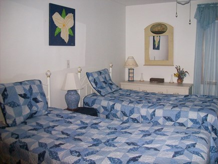 South Yarmouth Cape Cod vacation rental - First floor bedroom w/2 single beds