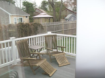 South Yarmouth Cape Cod vacation rental - Large deck w/gas grill