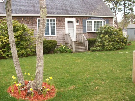 South Yarmouth Cape Cod vacation rental - Walk to Nantucket Sound Beaches from sunny three bedroom cape