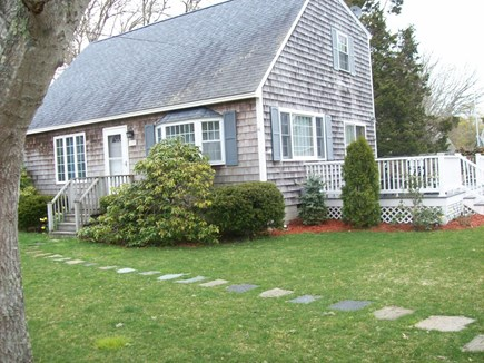 South Yarmouth Cape Cod vacation rental - Side view showing deck