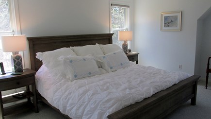 Eastham Cape Cod vacation rental - Second Floor Master with a King Tempurpedic Bed