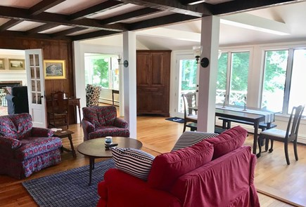 Orleans Cape Cod vacation rental - Living/Dining area