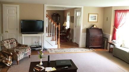 Orleans Cape Cod vacation rental - Living room & den beyond