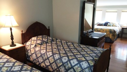 Orleans Cape Cod vacation rental - Bedroom #3 (up) twins & queen