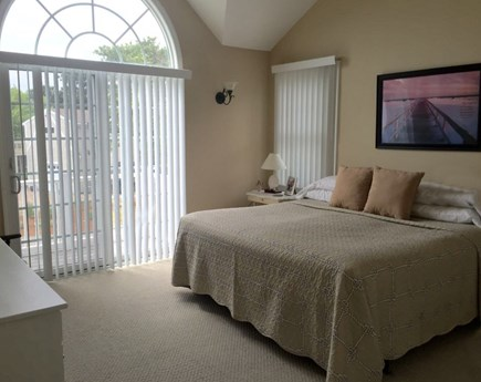 Wellfleet Cape Cod vacation rental - 1 of 4 bedrooms, 2nd floor king bed with lovely front views.