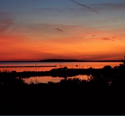 Wellfleet Cape Cod vacation rental - Sunset views from the upper deck.