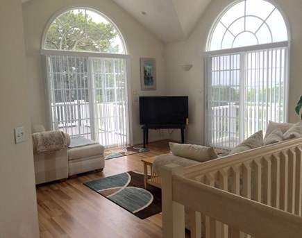 Wellfleet Cape Cod vacation rental - Upstairs sitting room with great views.
