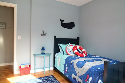 Plymouth MA vacation rental - 3rd Bedroom - twin with pullout trundle.