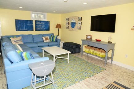 Plymouth MA vacation rental - Family room in lower level