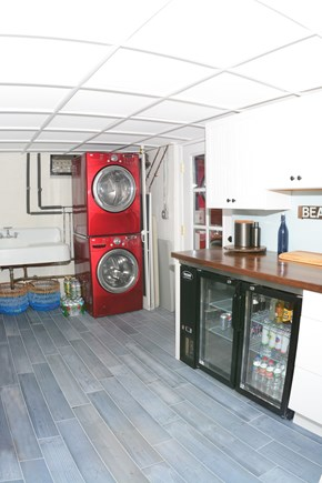 Plymouth MA vacation rental - Laundry room and prep area.