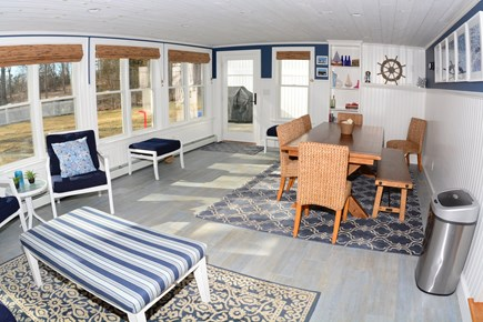 Plymouth MA vacation rental - Sunroom - walkout to backyard.