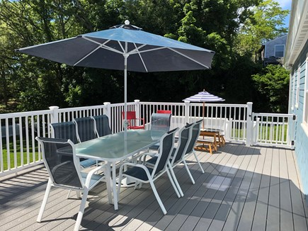 Plymouth MA vacation rental - Over sized deck - 24 x 16