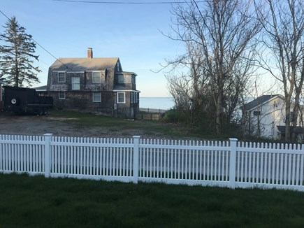 Plymouth MA vacation rental - View of ocean from front yard!