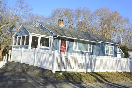 Plymouth MA vacation rental - Beach house—fully fenced in yard.