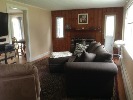 Dennis Port Cape Cod vacation rental - Living room (opposite angle)