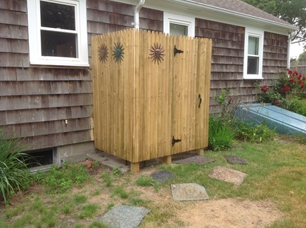 Dennis Port Cape Cod vacation rental - New outdoor shower