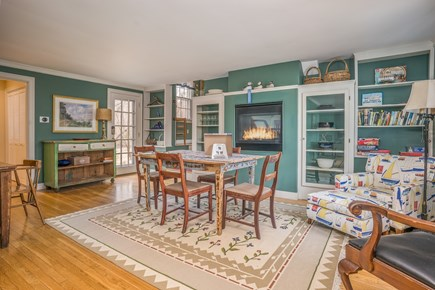 Barnstable Village Cape Cod vacation rental - Game Room-puzzles and games