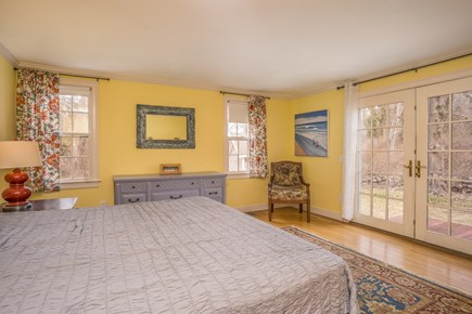 Barnstable Village Cape Cod vacation rental - Master Bedroom-King Size Bedroom with Private Deck