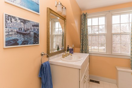 Barnstable Village Cape Cod vacation rental - Upstairs 2nd bathroom with shower.