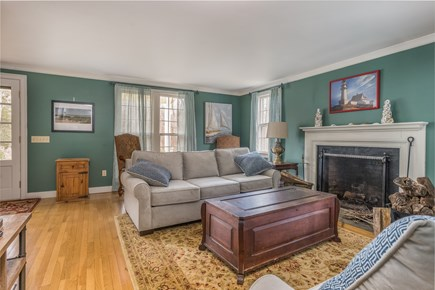 Barnstable Village Cape Cod vacation rental - Living Room with smart TV(Hulu, Netflix and Cable)