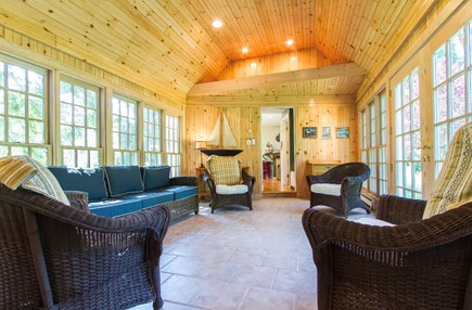 Barnstable Village Cape Cod vacation rental - Sunroom