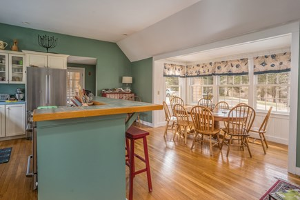 Barnstable Village Cape Cod vacation rental - Open Kitchen/Dining Area