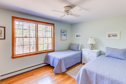 Eastham Cape Cod vacation rental - Two twins beds in this upstairs bedroom.  All beds include linens