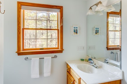 Eastham Cape Cod vacation rental - Upstairs bathroom with shower.  All bathrooms equipped w/towels.
