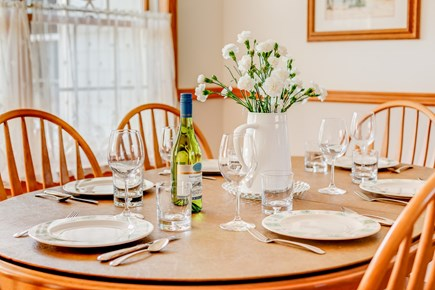Eastham Cape Cod vacation rental - A wonderful home for family dinners.