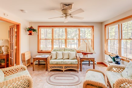 Eastham Cape Cod vacation rental - Sitting room off the living room.