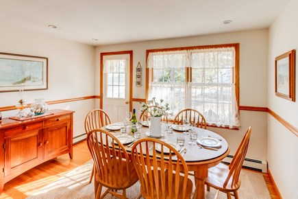 Eastham Cape Cod vacation rental - Dining for six.