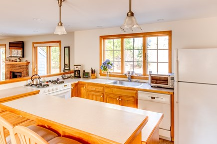Eastham Cape Cod vacation rental - Fully stocked kitchen with ample room and great sunlight.