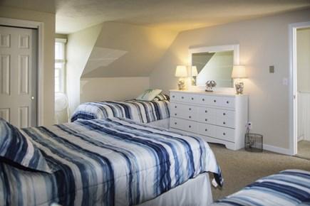 Hyannis Cape Cod vacation rental - Bedroom #2:  1 queen bed & 2 twin beds