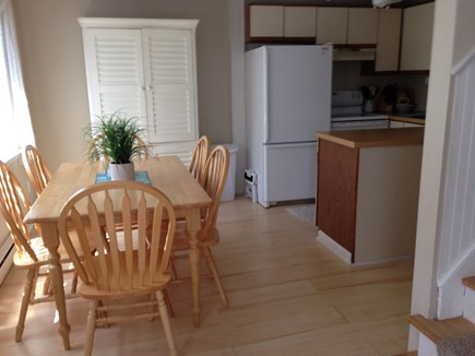 Hyannis Cape Cod vacation rental - Sunny dining area seats 6 open to the kitchen.
