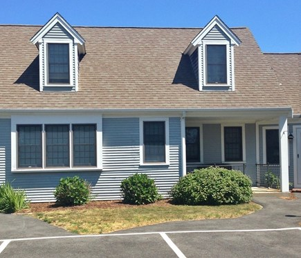 Hyannis Cape Cod vacation rental - View of front of unit from parking lot.