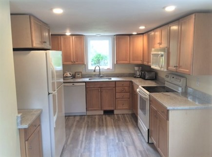 Brewster Cape Cod vacation rental - Kitchen view main house