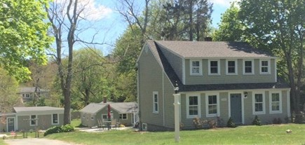 Brewster Cape Cod vacation rental - Main house with cottages behind