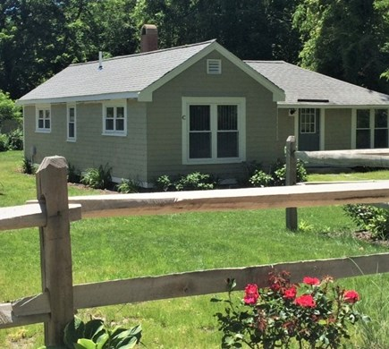 Brewster Cape Cod vacation rental - Two bedroom home front & side view