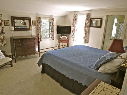 Chatham Cape Cod vacation rental - MBR, main level has a big king bed and bath en suite