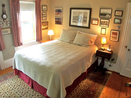 Chatham Cape Cod vacation rental - Queen bedroom, main level, private full bath