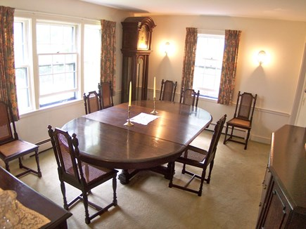 Chatham Cape Cod vacation rental - Dining room seats 10 comfortably