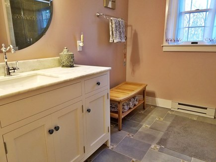 Orleans Cape Cod vacation rental - Upstairs Bathroom