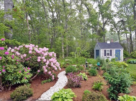 Orleans Cape Cod vacation rental - Garden with Path