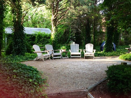 Orleans Cape Cod vacation rental - Enjoy coffee or a cocktail under the cedar trees