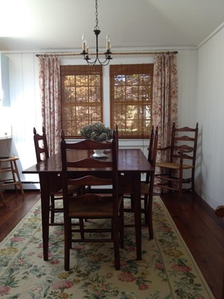 Orleans Cape Cod vacation rental - Dining Room table seats 6