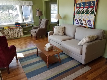Wellfleet Cape Cod vacation rental - Sun-filled living room