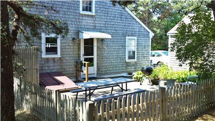 Wellfleet Cape Cod vacation rental - Rear entrance