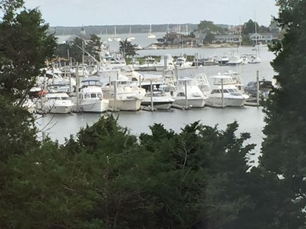 Hyannis Cape Cod vacation rental - Harbor view from second floor master