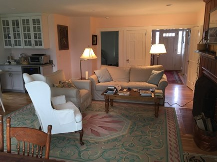 Hyannis Cape Cod vacation rental - Main floor great room w/dining area & kitchen